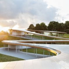 SANAA completes river-inspired building at Grace Farms nature reserve