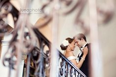 wedding photography - luna photo - real wedding - erika & matt - bride & groom - artistically angled shot
