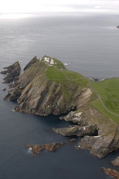 SUMBURGH HEAD lighthouse.Shetland Isles.Scotland