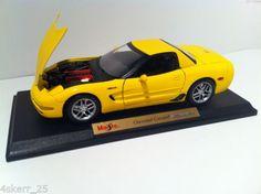 1-18-Chevrolet-Corvette-Z06-Diecast-Model-Car-2001-Corvette-Hardtop-C5-LS6-ZO6