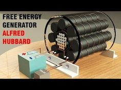 Free Energy Generator - Magnetic Motor 2017 - Permanent magnet motor - YouTube