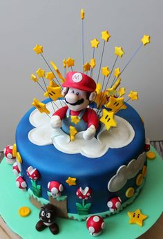 I had a lot of fun making this cake though...