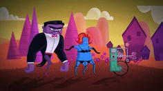 """Made this to demo different animation methods in After Effects for the Motion course I teach at CCAD. Music by Donnie Moore (song is """"Beast"""" from his project,… Monster Squad, Him Band, Beast, Disney Characters, Fictional Characters, Creatures, Animation, Songs, Music"""