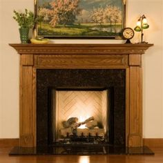 Nearly one hundred heirloom quality, fireplace mantels direct from the manufacturer. Design the Space has a style to suit your taste in a mantel for your fireplace! Handcrafted in your choice of wood, marble and stone. Wood Fireplace Mantel, Corner Fireplace, Decor, Custom Fireplace, Art And Craft Design, Wood Fireplace, Fireplace Mantel Surrounds, Fireplace Surrounds, Mantel Surround