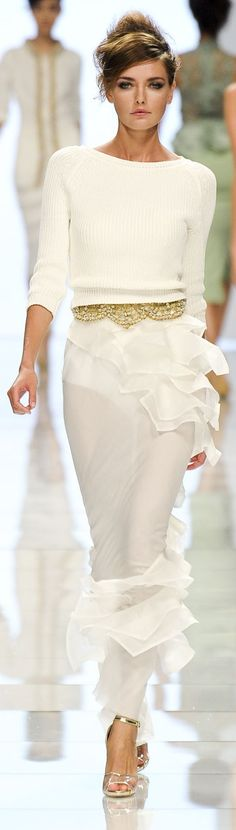 Ermanno Scervino Spring 2012 ~ Milan Fashion Week