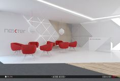Incorporate a pop of color with your seating! Nexter - 2014 on Behance