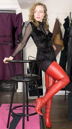 Do you think that I am sexy Mark Shavick darling? Thigh High Boots, High Heel Boots, Over The Knee Boots, Heeled Boots, Shoe Boots, Shoes, Sexy Stiefel, Crotch Boots, High Leather Boots