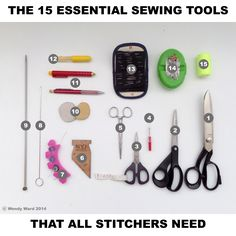 The 15 Essential Sewing Tools You Need