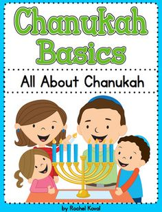 ***NEW Chanukah Basics***This product is a a great way to teach your students about the Jewish holiday of Chanukah. Whether you create a lap book  or use each part separately, your class will enjoy learning about the holiday!contents:*Cover*Chanukah word and riddle cards*Riddle pockets*Chanukah word and definition cards*Definition pockets*Header cards*Chanukah explanation pages- (blank included for kids to write)dreiedelChanukahmenorahgeltdonuts and latkesrecipesdreidel game*All about…