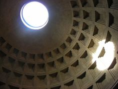 The Occulus of the Pantheon - Rome