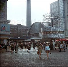 Poster DDR - Berlins neue Mitte 1971