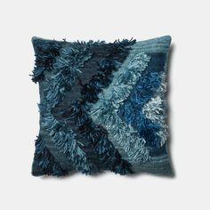 Fable Indigo Blue Pillow by Justina Blakeney® now available at Jungalow® Blue Pillows, Throw Pillows, Rya Rug, Justina Blakeney, Textiles, Pillow Sale, Indigo Blue, Shaggy, Decorative Pillows