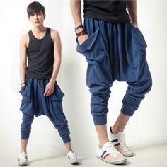 Knee Length Harem Pants