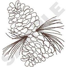 pine cones say fall