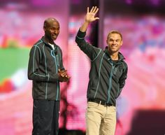 Bernard Lagat and Nick Symmonds talk about their success, their goals, and how ProFlex and Access Bars help them achieve world-class athletic status.