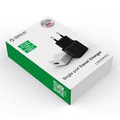 Köp Orico USB-väggladdare 5W 2A Vit fraktfritt!