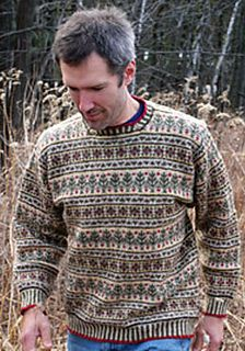 Nordic Christmas sweater pattern
