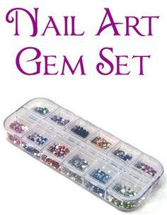 Nail Art Gem Set ~ $1.39 Shipped! {+ nail art dotting pens deal} #nails #nailart