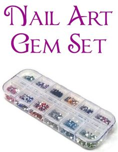 Nail Art Gem Set ~ $3.13 Shipped! {+ nail art dotting pens deal} #nails #nailart