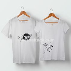 Astronaut and Love Planet Couple Tshirt Couples Costume, Personalized Couples Gifts, Couples Matching Tee Anniversary Gift,Couple T-shirts Welcome to veroattack, home of the funniest and popular tee's online. Your new tee will be a great gift for him or her. I use only quality shirts such as Fruit of the Loom and gildan. The process used …