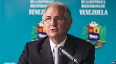 Venezuela charges Caracas Mayor Antonio Ledezma over 'conpiracy' (American back coup). 21feb2015