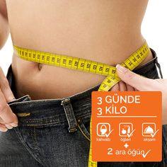 3 günde 3 kilo hafifle