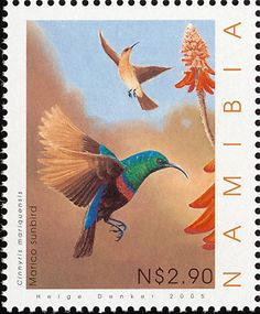 Marico Sunbird stamps - mainly images - gallery format