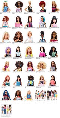 nova barbie 2016 Braids Hairstyles Pictures, Barbie Fashionista Dolls, Diy Barbie Clothes, Barbie Family, Mattel, Disney Dolls, Vintage Barbie Dolls, Barbie Collector, Barbie World