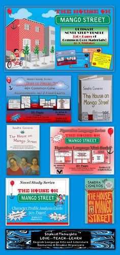 House on Mango Street Common Core Aligned Literature Guide - 122 ...