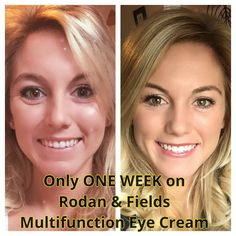 Rodan & Fields Multifunction Eye Cream leaves you with instant & long term results! Ask me about it today! Www.tracyhester.myrandf.com
