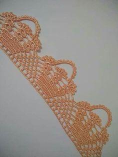 Crochet Heart Edging Stitches 24 Ideas Knitting TechniquesKnitting For KidsCrochet PatronesCrochet Stitches Crochet Boarders, Crochet Lace Edging, Thread Crochet, Love Crochet, Crochet Shawl, Crochet Doilies, Hand Crochet, Crochet Stitches, Crochet Flowers
