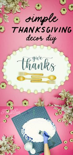 Thanksgiving Home Decoration DIY (Simple and Sweet) This easy DIY craft is perfect for any Thanksgiving meal. This easy DIY project will delight all! #DIYproject #nosew #holidays #homedecor #Thanksgiving Thanksgiving Home Decorations, Thanksgiving Projects, Thanksgiving Traditions, Thanksgiving Meal, Cute Valentine Ideas, Valentines, Easy Diy Crafts, Cool Diy Projects, Handmade Home Decor