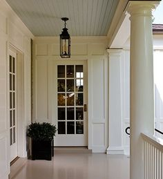 can't beat ceiling porch blue...(or the amazingly clean painted floor!)