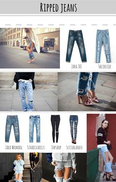 290 Ideas De Pantalones Jeans Rotos Jeans Rotos Pantalones Jeans