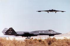 F-23 and B-2