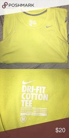 Nike workout tank dri fit cotton tee tank Nike Tops Tank Tops
