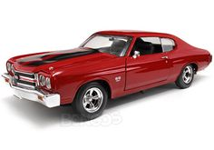 1970 Chevy Chevelle SS454 ''Fast & Furious 4'' 1:18 Scale - ERTL Diecast Model (Red)
