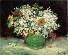 Vincent van Gogh Painting, Oil on Canvas Paris: Summer, 1886 National Gallery of…