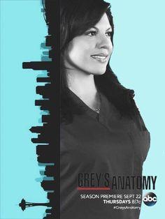 Grey's Anatomy - Callie Greys Anatomy Season, Grays Anatomy Tv, Greys Anatomy Memes, Callie Torres, Torres Grey's Anatomy, Greys Anatomy George, Alex And Meredith, Grey's Anatomy Doctors, Greys Anatomy Characters