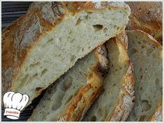 No knead bread No Knead Bread, Daily Bread, Greek Recipes, Scones, Oreo, Banana Bread, Bakery, Food Porn, Rolls