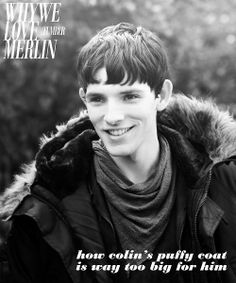 why we love merlin, he's just so adorable! Merlin Show, Merlin Morgana, Merlin Cast, Merlin And Arthur, Bbc Tv Shows, Bbc Tv Series, Colin Morgan, Merlin Funny, Best Tv Series Ever