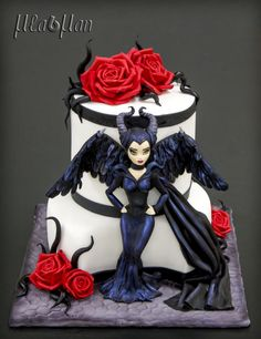 Maleficent Cake - Cake by MLADMAN