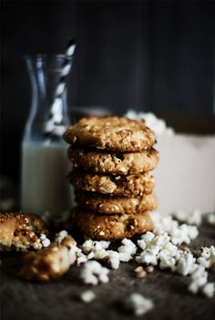 pOpcorn biscuits