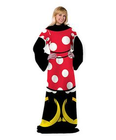 Look what I found on #zulily! Minnie Mouse Sleeved Blanket - Adult by Minnie Mouse #zulilyfinds