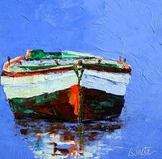Calming the Soul ... Again, painting by artist Leslie Saeta
