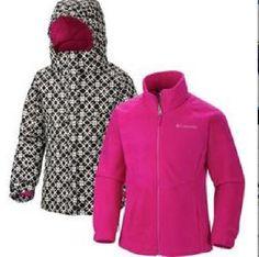 Girls 3 In 1 Winter Coats - JacketIn
