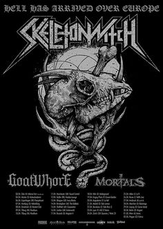GOATWHORE announce European tour as direct support to SKELETONWITCH in April of 2015! - http://bit.ly/1zczqlQ