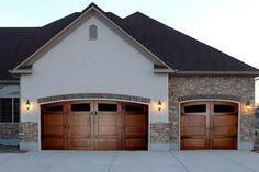 Barn door garages!
