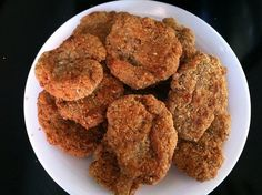 Gluten free, dairy free, egg free, organic chicken nuggets-almost too good to be true! This recipe is SO WORTH the 20-30 minutes it takes to make them!