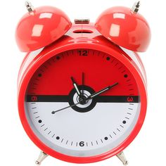 Pokemon Alarm Clock Hot Topic ($40) ❤ liked on Polyvore featuring home, home decor and clocks
